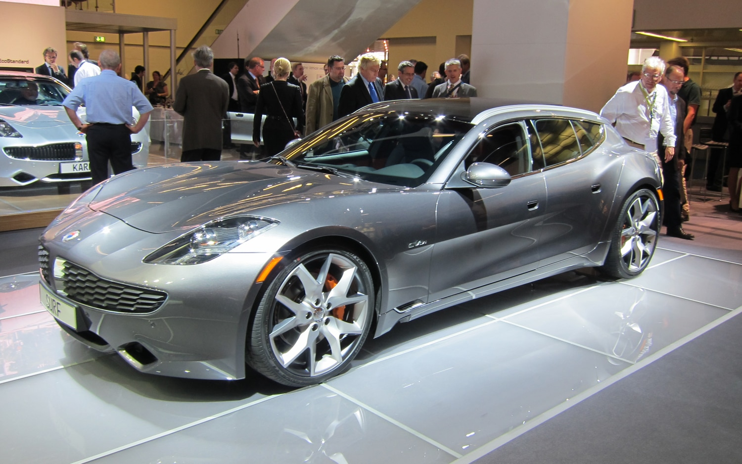 Fisker Surf Concept Front Three Quarter View1