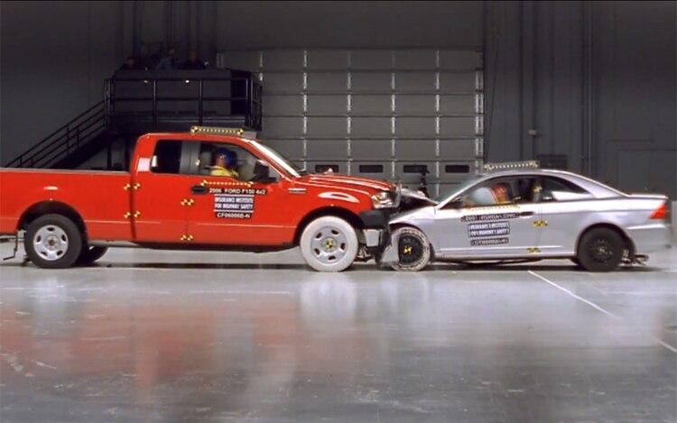 Ford F 150 Vs Honda Civic Crash 2