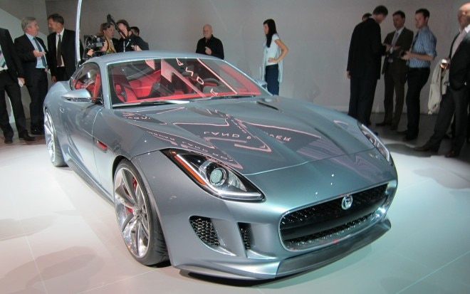 Jaguar C X16 Concept Front Three Quarter Low View Live