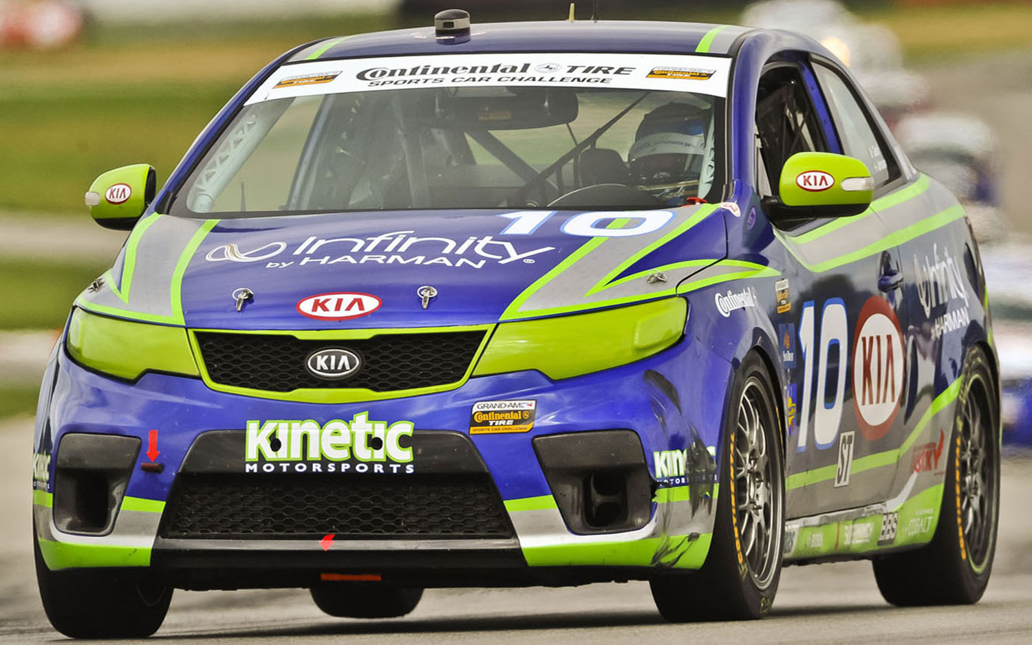 Kia Forte Koup Infinity Racing Car Front Three Quarter1