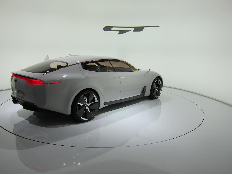 Kia GT Concept Rear Three Quarter1