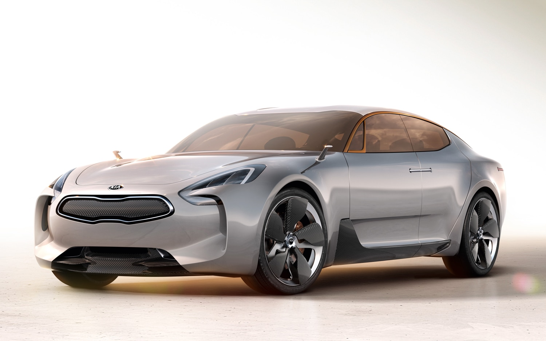 Kia GT Concept Front Three Quarter1