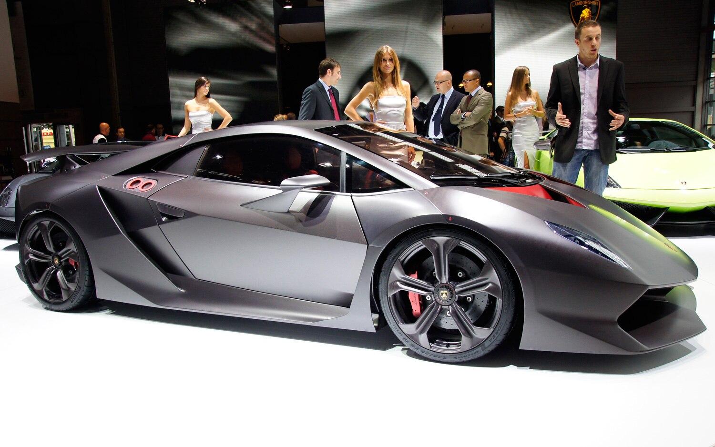 Lamborghini Sesto Elemento Concept Side View1