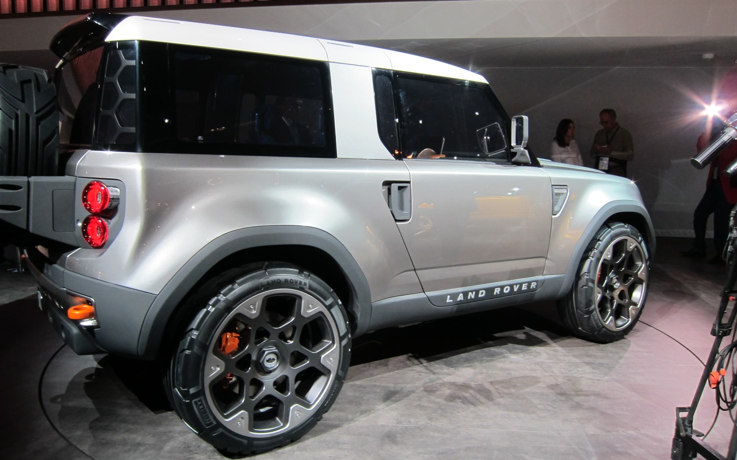 First Look Land Rover Defender DC100 Concept  Automobile Magazine