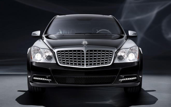 Maybach 57S Edtion 125 Front Grille1 660x413