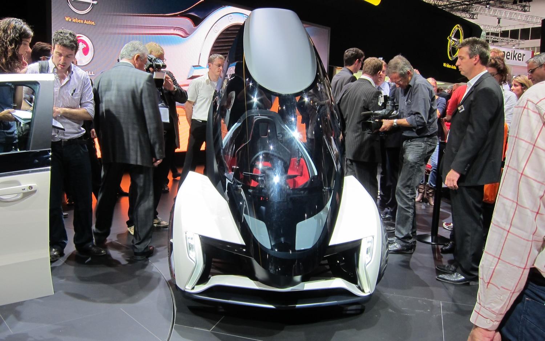 Opel RAK E Concept Front1