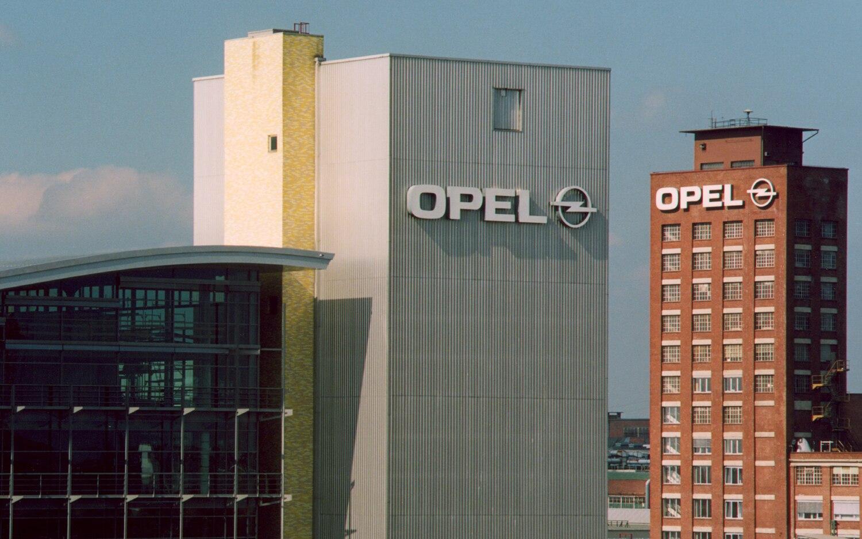 Opel Russelheim Plant Exterior1