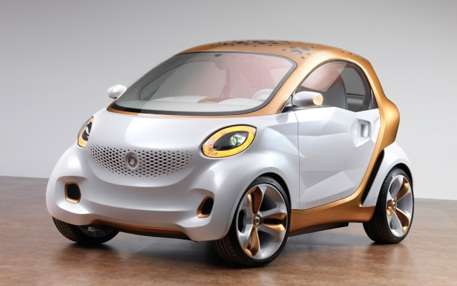 Smart Forvision Concept Front Three Quarter 660x413