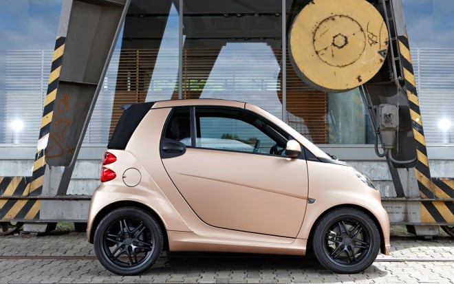 Smart Fortwo Brabus WeSC Special Edition Profile1 660x413