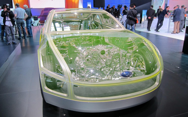 Subaru BRZ Prologue Concept Engine View1