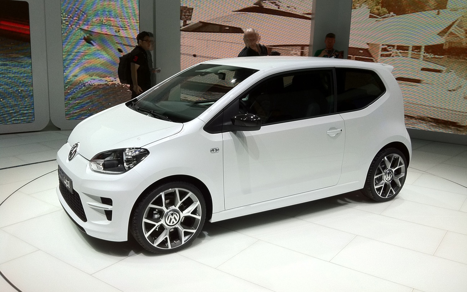 Volkswagen Up Front Three Quarters