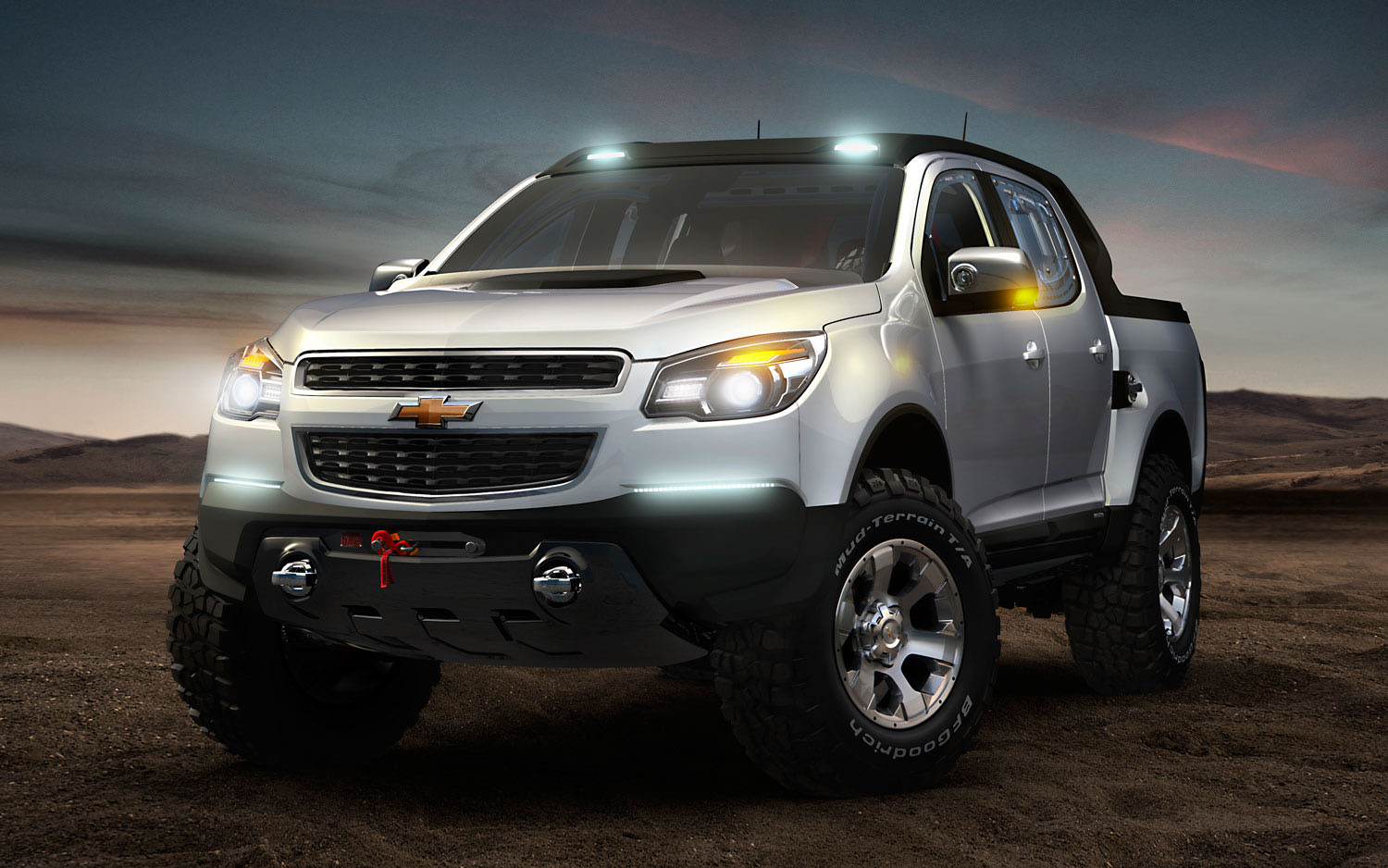 Chevrolet Colorado Rally Concept Front Three Quarter1