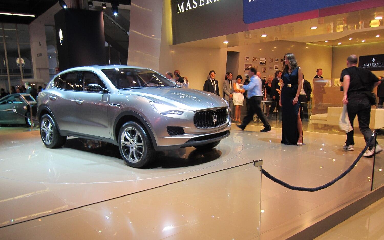 Maserati Kubang Concept Front Right View1