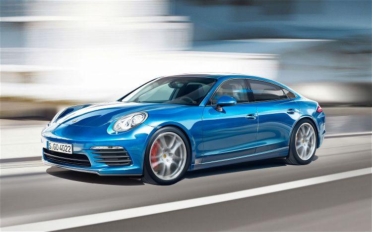 Porsche Pajun Illustration1