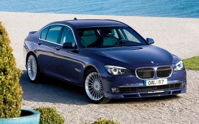 2011 BMW Alpina B7 Front Three Quarter1 660x413