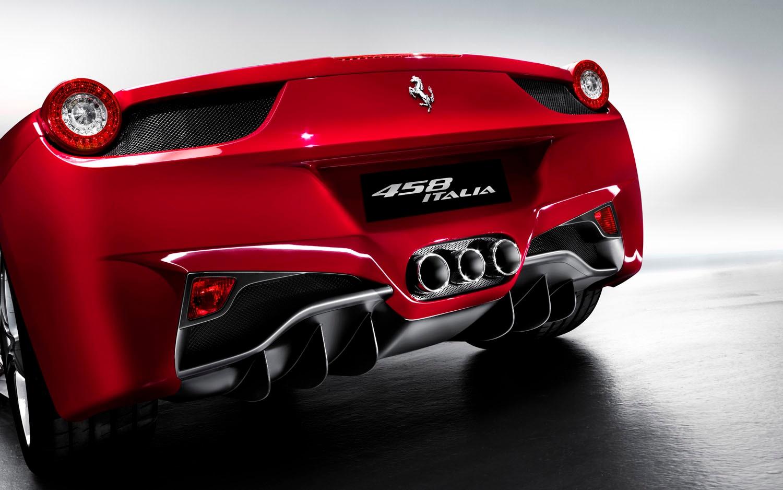 2011 Ferrari 458 Italia Rear1
