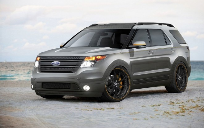 ford sends a glut of tricked out explorers f series. Black Bedroom Furniture Sets. Home Design Ideas