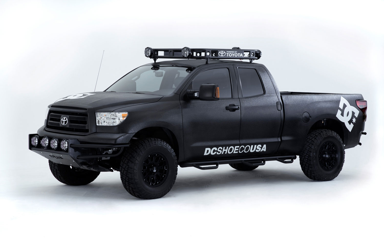 2011 SEMA Toyota DC Ultimate Motorcross Tundra Left Three Quarter1