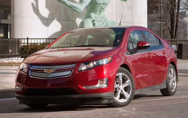 2011 Chevrolet Volt Front Three Quarter1 660x413