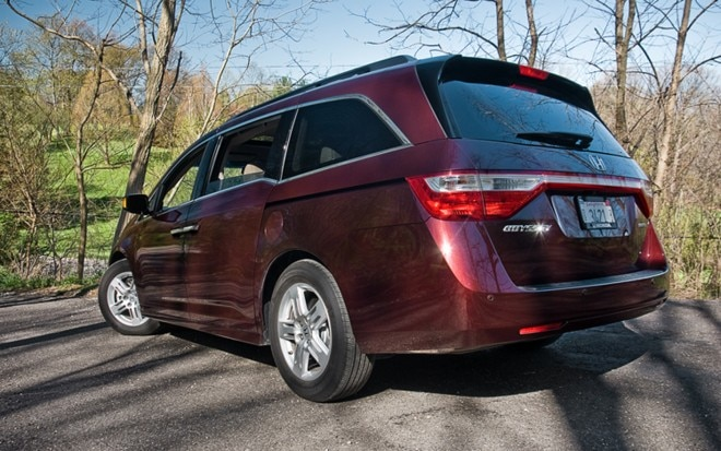 2011 Honda Odyssey Touring Elite Rear Left Side View1 660x413