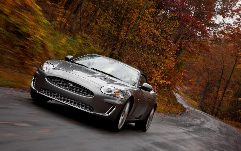 2011 Jaguar XKR Convertible Front Left View 2