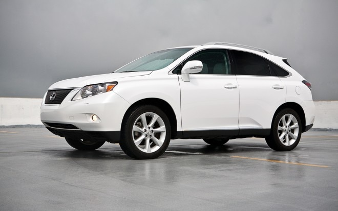 2011 Lexus RX350 AWD Front Left View1 660x413