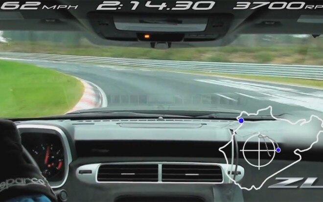 2012 Chevrolet Camaro ZL1 Nurburgring Lap 660x413