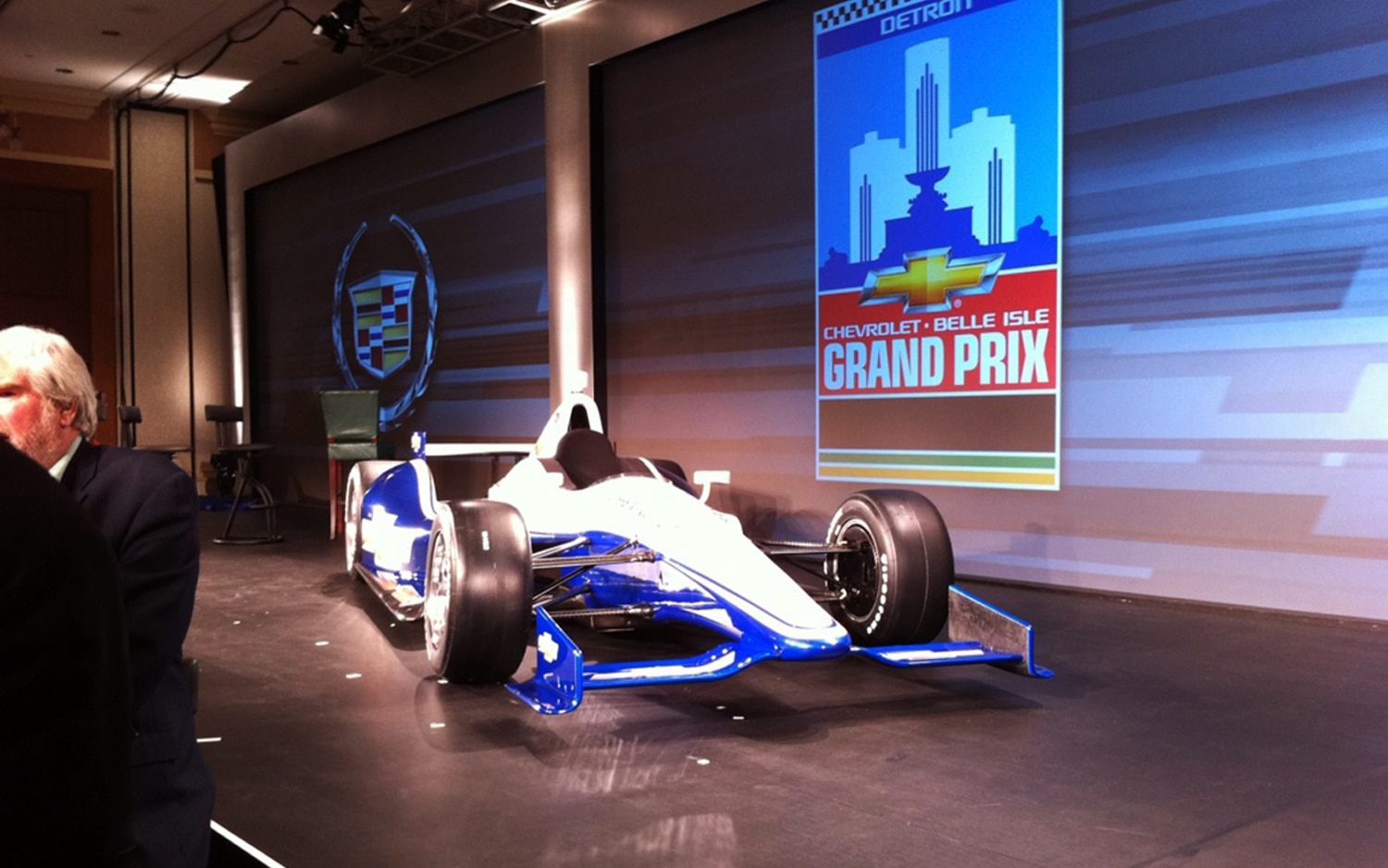 2012 Chevrolet IndyCar Racer Front Three Quarter Live1