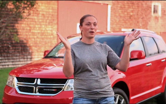 2012 Dodge Journey Winner Melissa Hands Up1 660x413