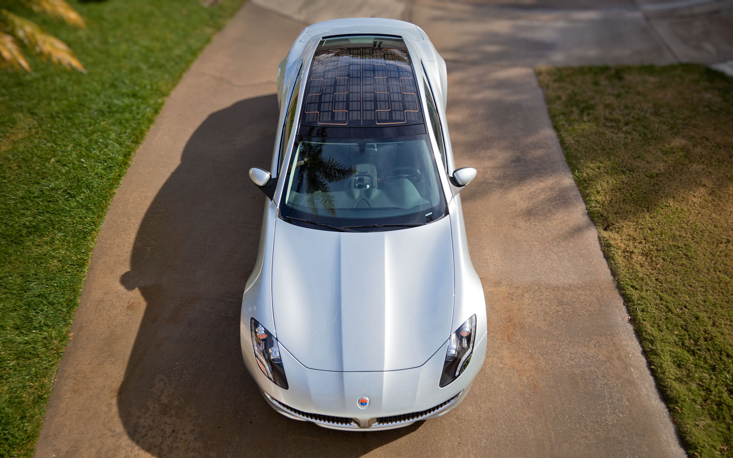 2012 Fisker Karma Front Aerial View1
