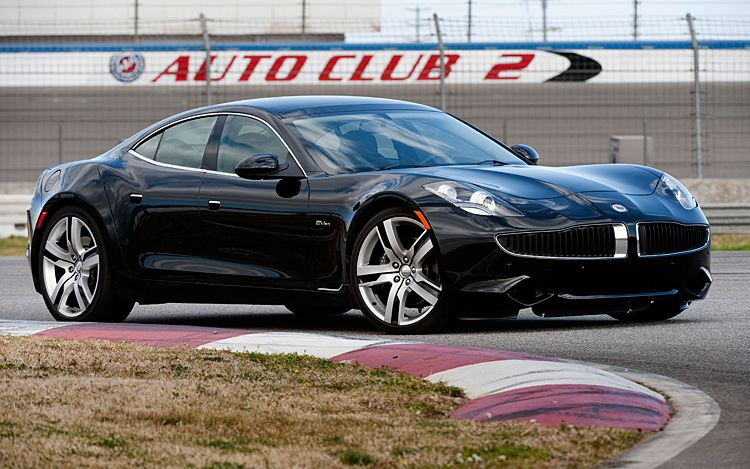 2012 Fisker Karma Front Three Quarter In Black1