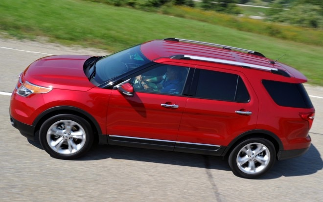 2012 Ford Explorer Top View1 660x413