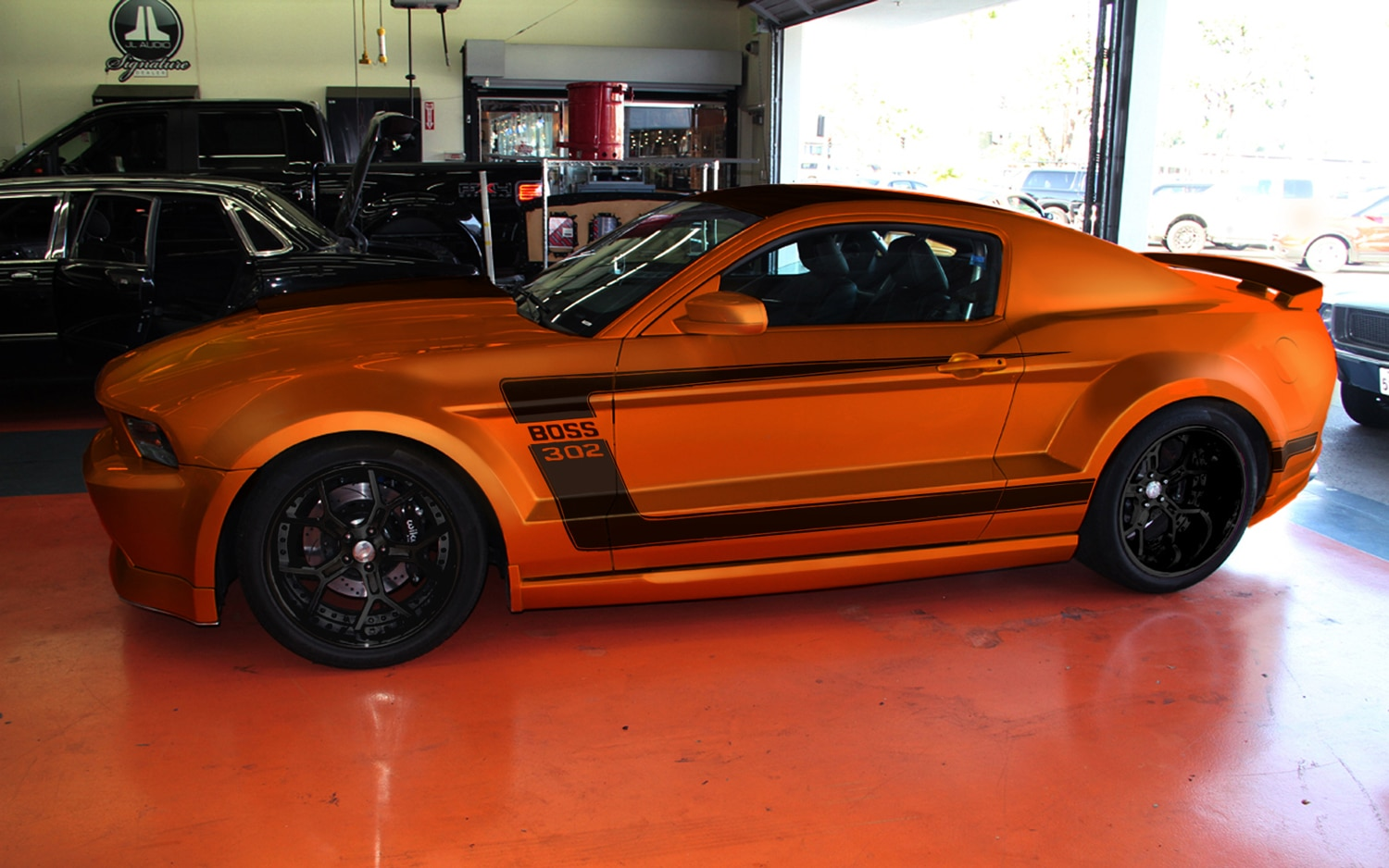 2012 Ford Mustang Boss 302 X Profile1