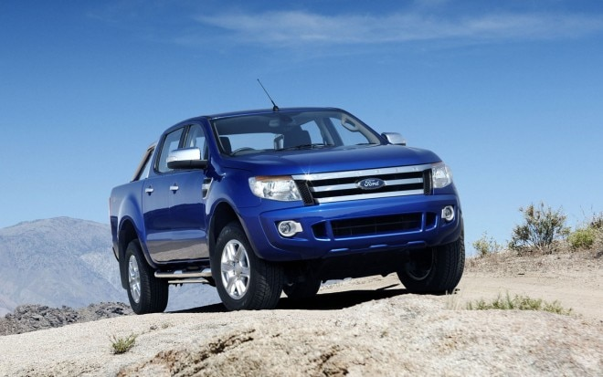 2012 Ford Ranger EU Front Three Quarter 21 660x413