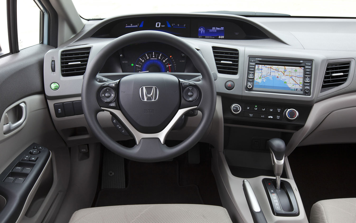 2012 honda civic natural gas goes on sale for 26 905 for 2012 honda civic interior