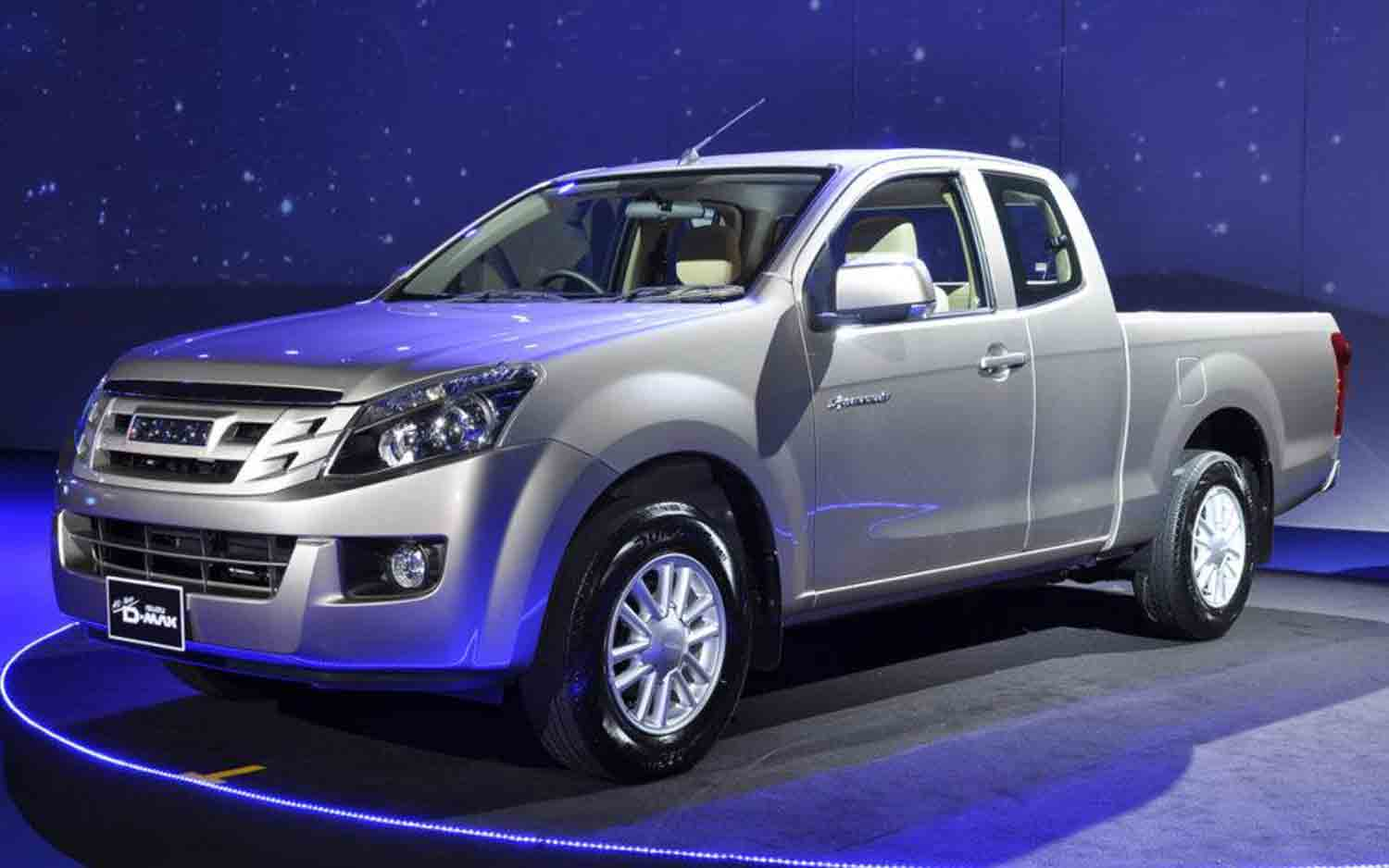 Isuzu's New D-Max Pickup Is A Facelifted 2013 Chevrolet ...