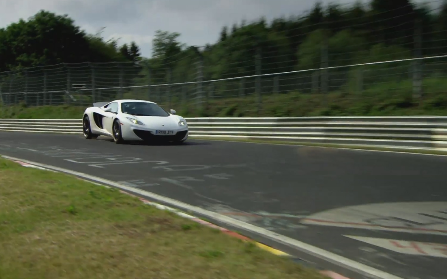 2012 McLaren MP4 12C On Nurburgring1