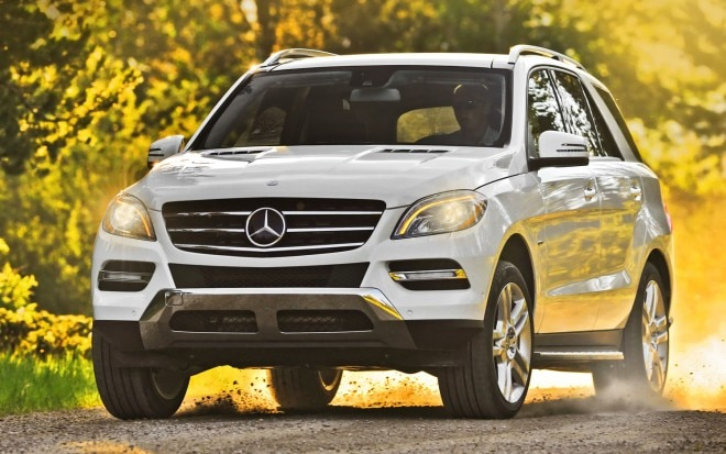 2012 Mercedes Benz ML350 BlueTEC Front Three Quarter1 660x413