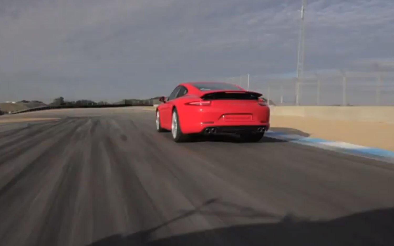 2012 Porsche 911 Carrera S Rear Side1