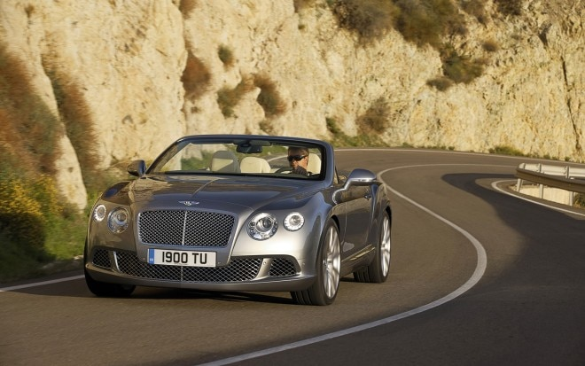 2012 Bentley Continental GTC Front Left View1 660x413