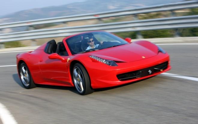 2012 Ferrari 458 Spider Front Right View1 660x413