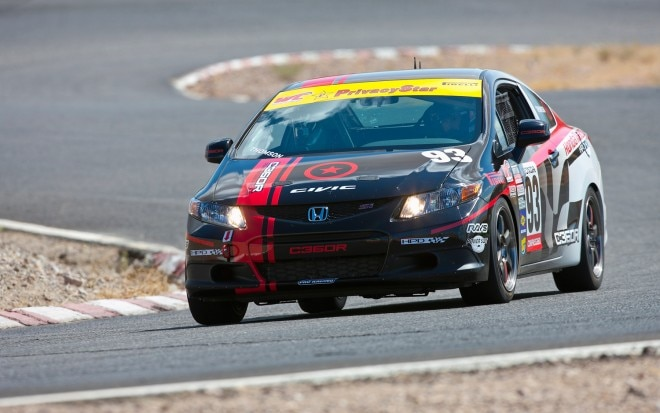 2012 Honda Civic Si Race Car HPD Front Left View1 660x413