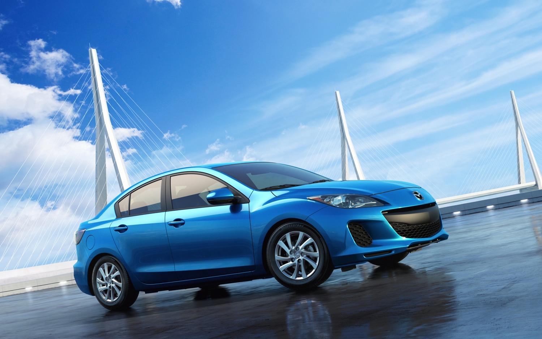 2012 Mazda3 I Grand Touring SkyActiv G Sedan Right Side View1