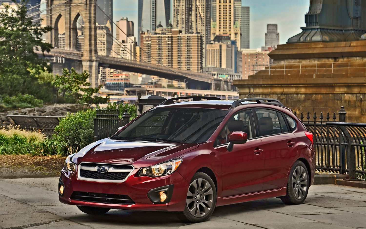 2012 Subaru Impreza Hatchback Front Left Side View1