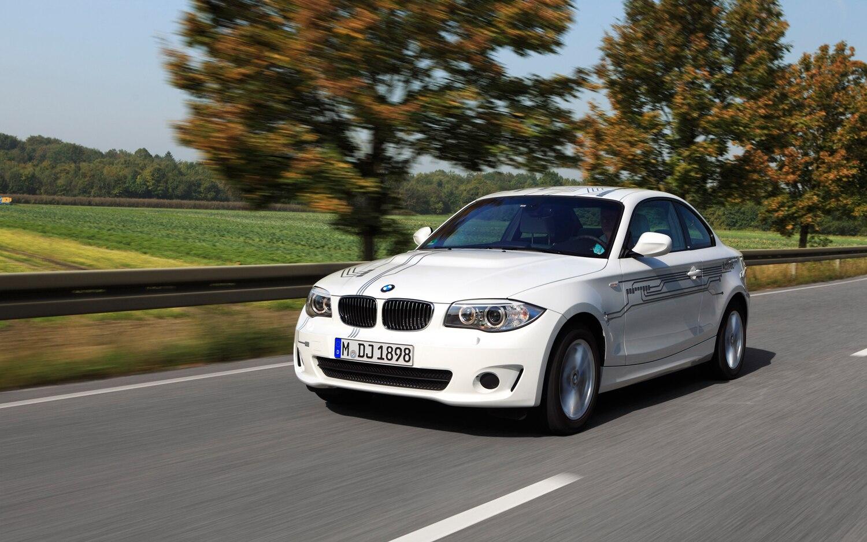 2013 BMW ActiveE Front Left View 2