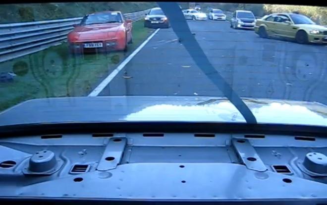 BMW E30 Onboard Shot Nurburgring Crash1 660x413
