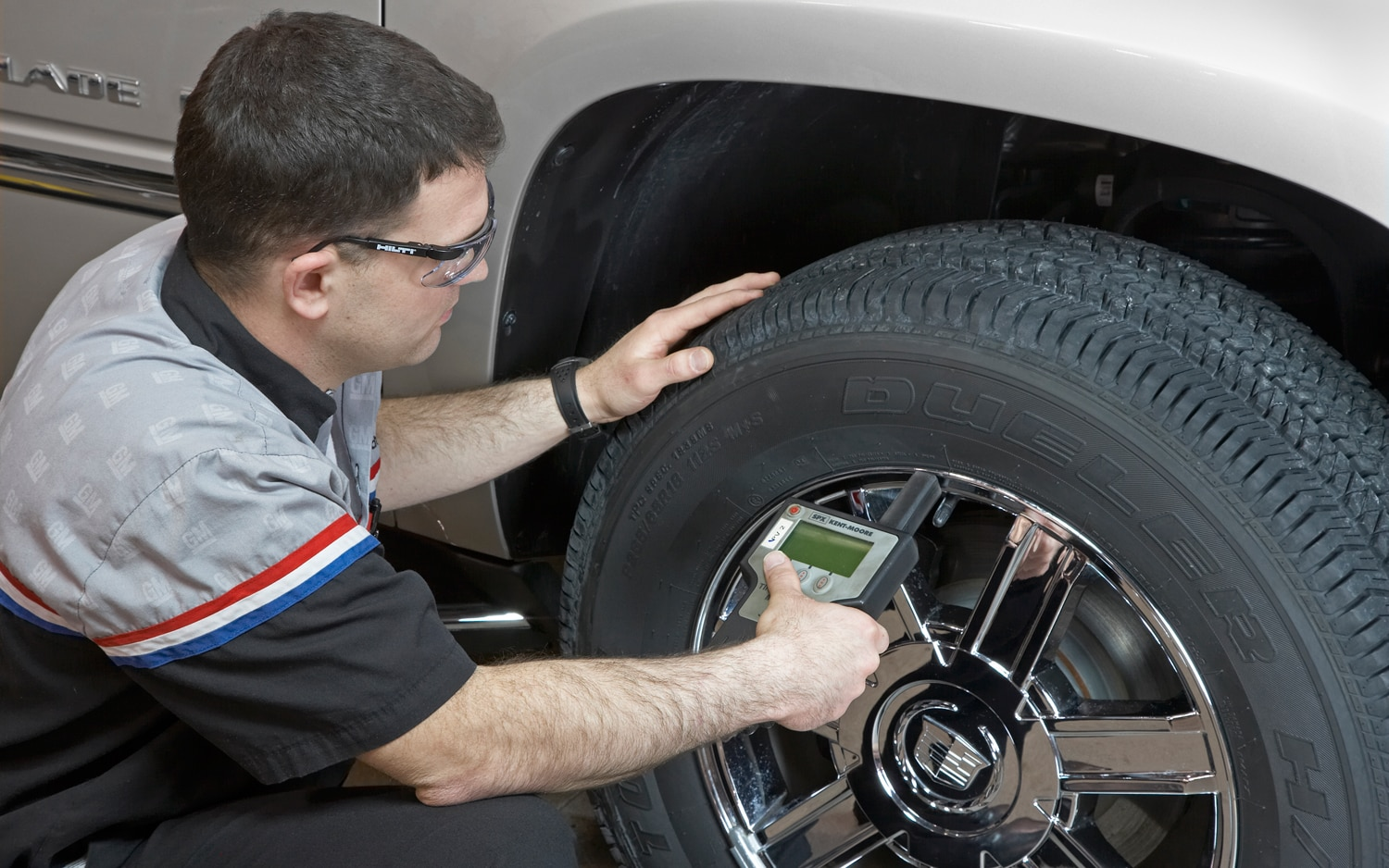 Cadillac Escalade Tire Check1