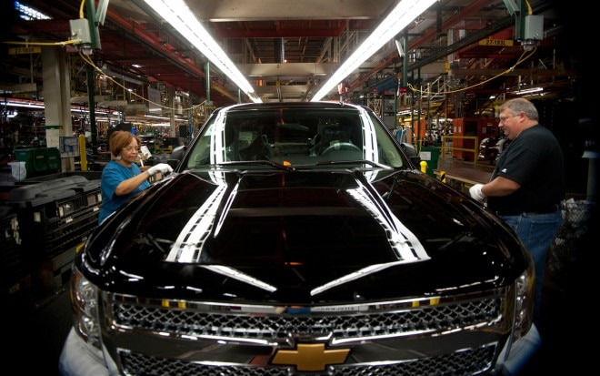 Chevrolet Silverado Fort Wayne Assembly Line1 660x413