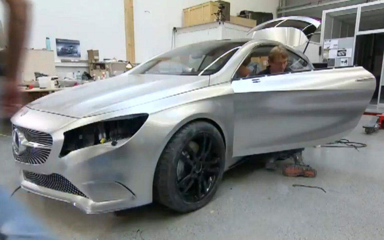 Concept A Class In Garage1
