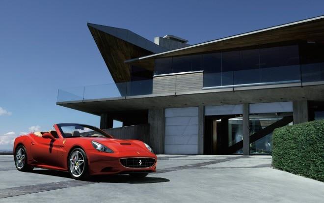 Ferrari California Front Three Quarter1 660x413